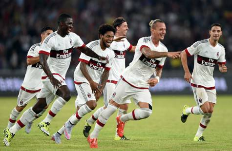 L'esultanza dopo il gol di Philippe Mexes (Getty Images)