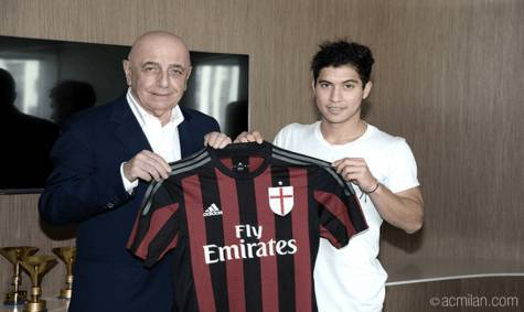 Adriano Galliani e José Mauri (acmilan.com)