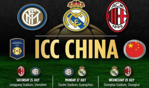 International Champions Cup Cina (foto da Twiter)