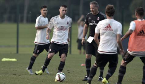 Allenamento del Milan a Shanghai (acmilan.com)