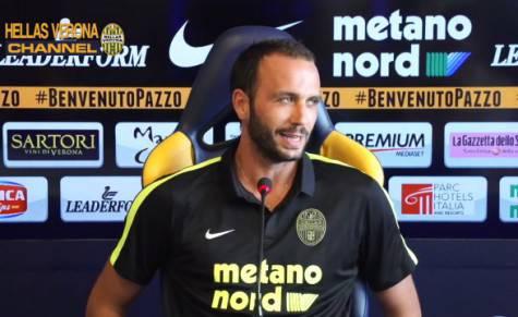 Giampaolo Pazzini (foto Verona Channel)