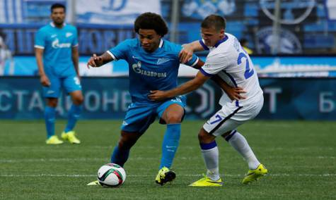 Axel Witsel e Igor Denisov (Gety Images)