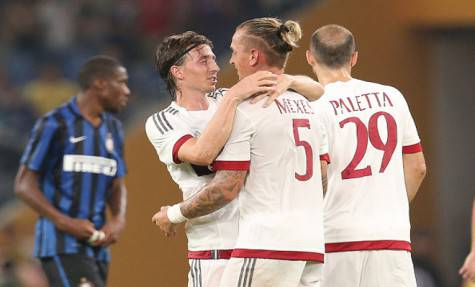 Montolivo e Mexes (getty images)