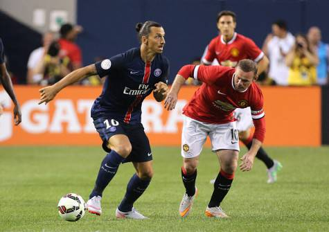 Ibrahimovic e Rooney (getty images)