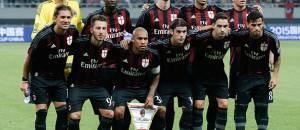 La formazione del Milan (getty images)