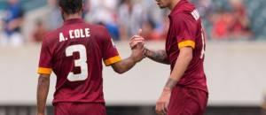 Ashley Cole e Alessio Romagnoli (getty images)