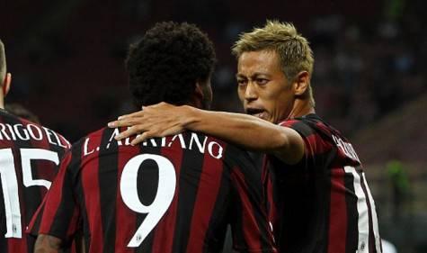 Luiz Adriano & Keisuke Honda (Getty Images)