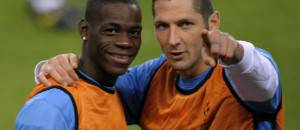 Mario Balotelli & Marco Materazzi (Getty Images)