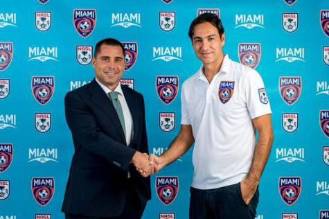 Alessandro Nesta nuovo allenatore del Miami FC (foto Twitter)