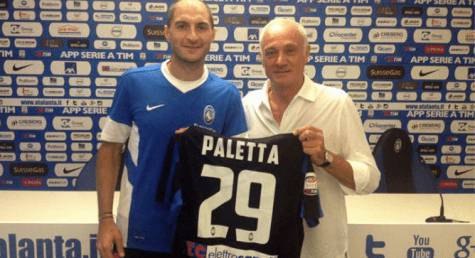 Paletta all'Atalanta (twitter)