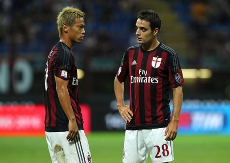 Keisuke Honda & Giacomo Bonaventura (Getty Images)