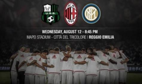 Trofeo Tim: Milan-Sassuolo-Inter