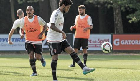 Allenamento a Milanello (photo by acmilan.com)