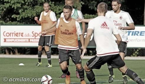 Allenamento AC Milan prima