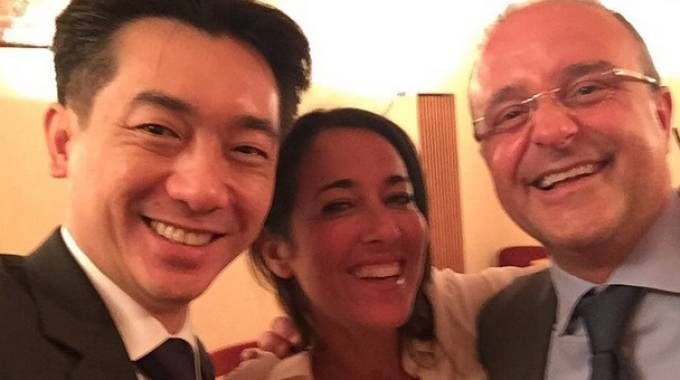 Bee Taechaubol, Licia Ronzulli e Gerardo Sagat (photo Istagram)