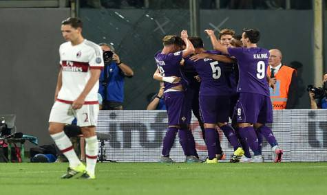 Fiorentina-Milan (Getty Images)