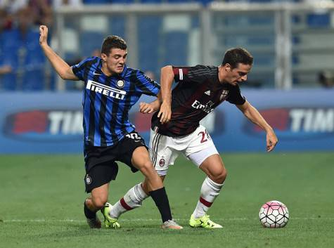 Mateo Kovacic e Giacomo Bonaventura (Getty Images)
