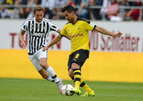Ilkay Gundogan e Claudio Marchisio (Getty Images)