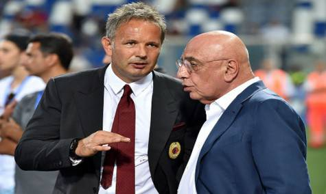 Sinisa Mihajlovic e Adriano Galliani (Getty Images)