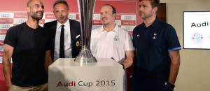 Pep Guardiola,  Sinisa Mihajlovic, Rafael Benitez e Mauricio Pochettino (Getty Images)