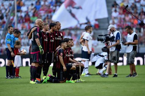 Milan nell'Audi Cup 2015 (Getty Images)