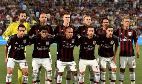 Milan al Trofeo Tim 2015 (Getty Images)