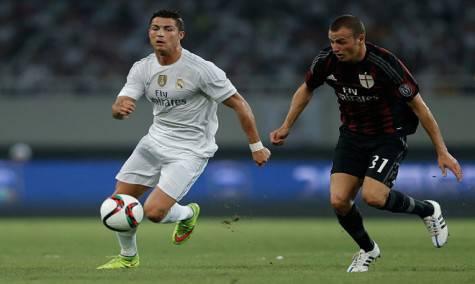 Cristiano Ronaldo e Luca Antonelli (Getty Images)