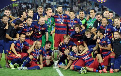 Barcellona vince la Supercoppa