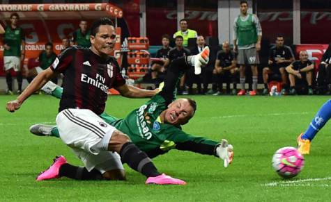 Carlos Bacca in gol (getty images)
