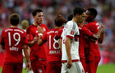 De Sciglio davanti al Bayern  (getty images)