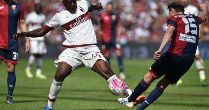 Mario Balotelli vs Giovanni Marchese (Getty Images)