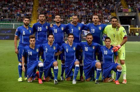 La formazione dell'Italia contro la Bulgaria (Getty Images)