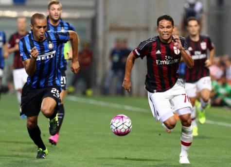Miranda & Carlos Bacca (foto da La Gazzetta dello Sport)