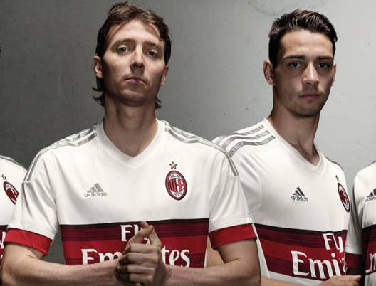 Seconda Maglia AC Milan RICCARDO MONTOLIVO