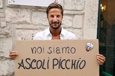 Luca Antonini (foto presa dalla pagina fb dell'Ascoli)