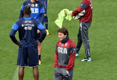 Antonio Conte in allenamento (Getty Images)
