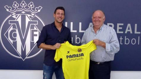 Daniele Bonera con la maglia del Villarreal (foto: villarrealcf.es)