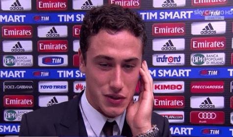 Davide Calabria (foto da video)