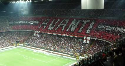 La curva del Milan (foto dal web)