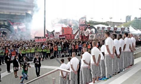 La festa a Casa Milan (foto acmilan.com)