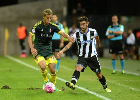 Bruno Fernandes vs Keisuke Honda (Getty Images)