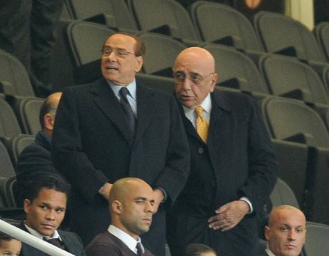 Silvio Berlusconi e Adriano Galliani (©Getty Images)