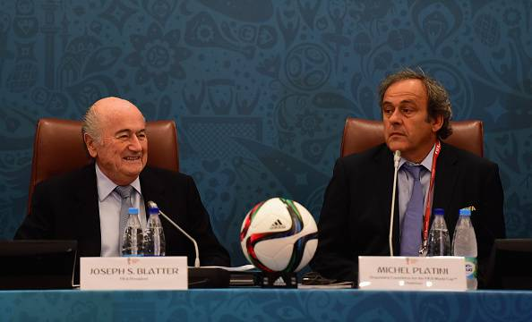 Joseph Blatter Michel Platini
