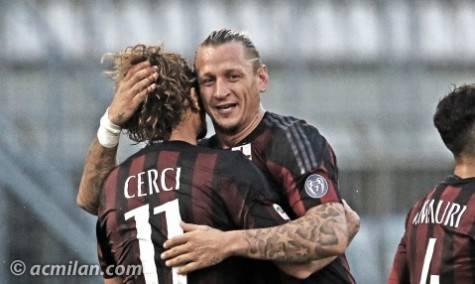 Cerci e Mexes (foto acmilan.com)