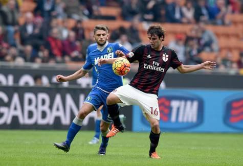 Domenico Berardi e Andrea Poli (©getty images)