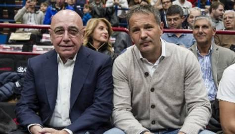 Sinisa Mihajlovic e Adriano Galliani (Foto Sportmediaset)