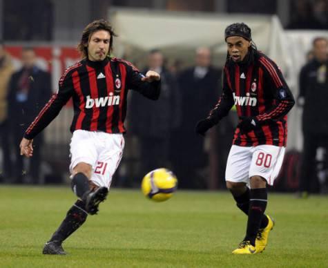 Andrea Pirlo Ronaldinho