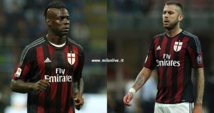 Mario Balotelli e Jeremy Menez