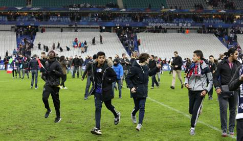 Panico allo Stade de France (getty images)