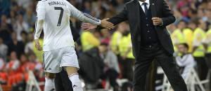 Cristiano Ronaldo e Carlo Ancelotti